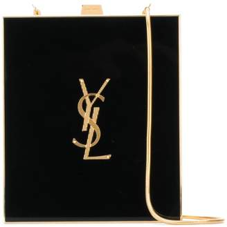Saint Laurent Tuxedo box clutch