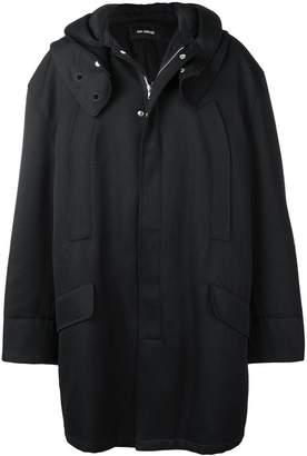 Raf Simons oversized parka coat