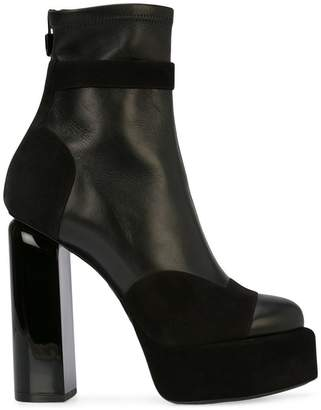 Pierre Hardy platform ankle boots