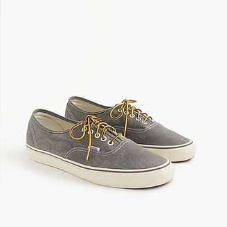 Vans for J.Crew washed canvas authentic sneakers