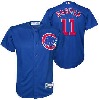 Majestic Yu Darvish Chicago Cubs Player Replica Cool Base Jersey, Big Boys (8-20)