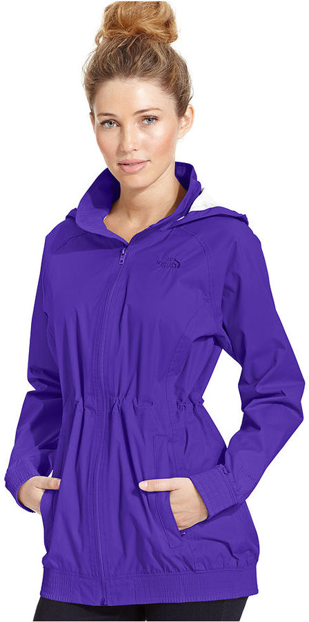 The North Face Jacket, Sereyana Hooded Cinched-Waist Anorak