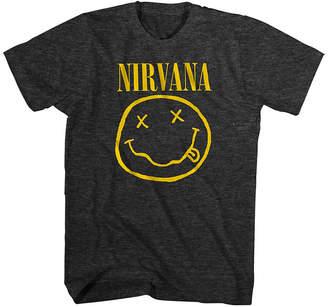 Novelty T-Shirts Mens Nirvana Graphic T-Shirt