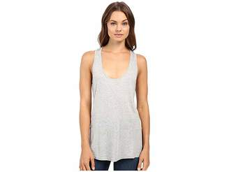 Lanston Block Racerback Tank Top Women's Sleeveless