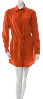 Thakoon Silk Button-Up Dress