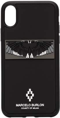 3D wings logo iPhone XS case