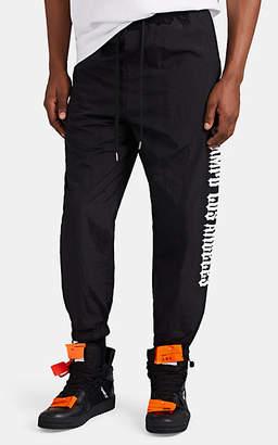 Stampd Men's Chopper Logo-Print Jogger Pants - Black