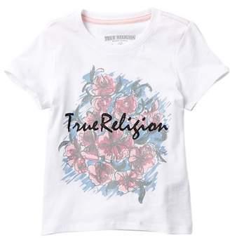 True Religion Flower Tee (Little Girls)