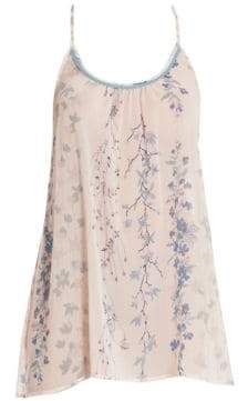 In Bloom Peach Floral Chemise