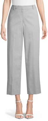 Theory Wide-Leg Ankle Pants