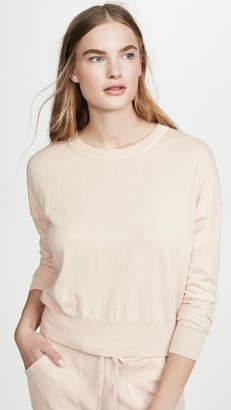 White + Warren Drop Shoulder Sweatshirt