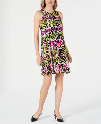 Kasper Tropical Print Dress