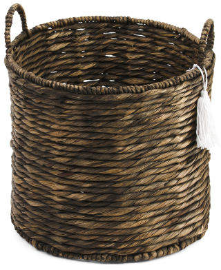 Medium Round Natural Storage Basket