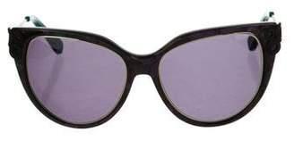 Oscar de la Renta Printed Tinted Sunglasses