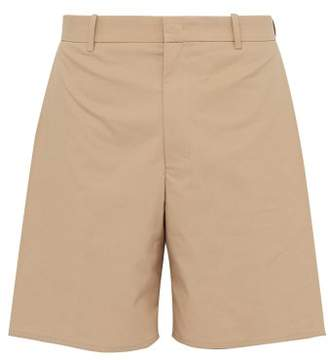 Wooyoungmi Box Pocket Cotton Shorts - Mens - Khaki