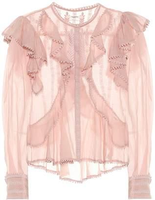 Etoile Isabel Marant Isabel Marant, étoile Alea embroidered cotton blouse
