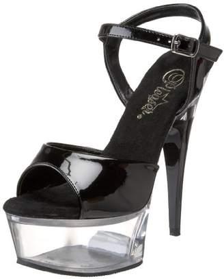Pleaser USA Women's CAPTIVA-609/B/C Platform Sandal