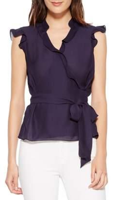Parker Miranda Sleeveless Silk Blend Top