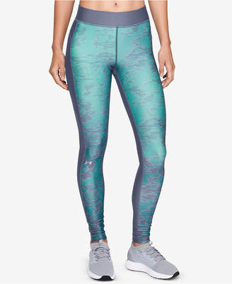 Under Armour HeatGear Printed Compression Leggings
