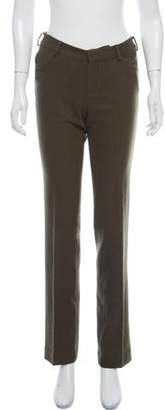 Ralph Lauren Wool Mid-Rise Pants