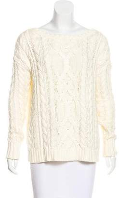 Polo Ralph Lauren Cable Knit Scoop Neck Sweater