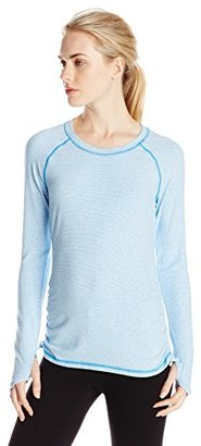Lucy Women's Dashing Stripes Long Sleeve $65 thestylecure.com