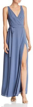 Fame & Partners Dinah Wrap Gown