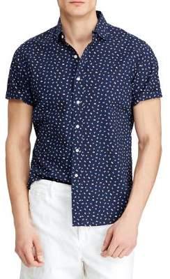Polo Ralph Lauren Classic-Fit Seersucker Print Shirt