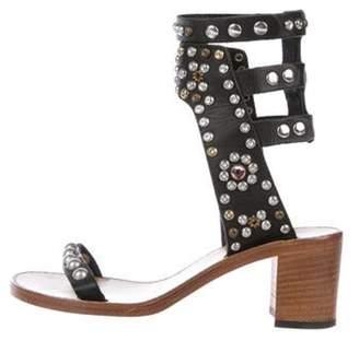 Isabel Marant Elvis Leather Sandals Black Elvis Leather Sandals