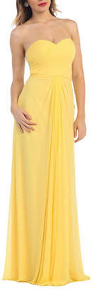 Asstd National Brand Simple Yet Beautiful Sweetheart Bridesmaids Evening Dress