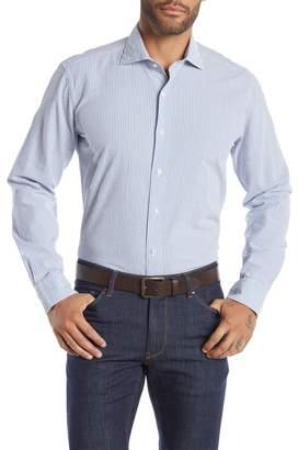 Peter Millar Summertime Seersucker Stripe Regular Fit Shirt