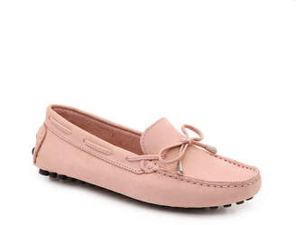 Mercanti Fiorentini Leather String Tie Loafer - Women's