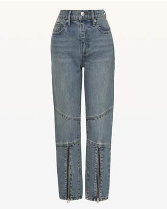 Juicy Couture (ジューシー クチュール) - JXJC Zip Leg Moto Girlfriend Jean