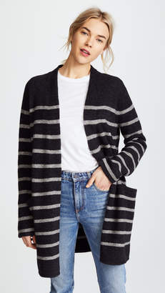 Jenni Kayne Stripe Yak Sweater Coat
