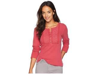 Lucky Brand Novelty Bib Thermal Shirt