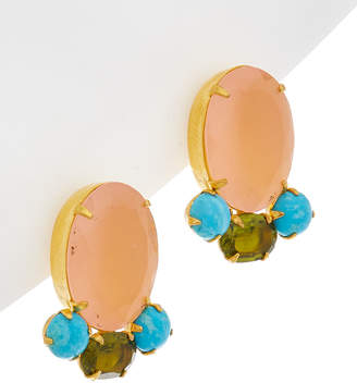 Bounkit 14K Plated Earrings