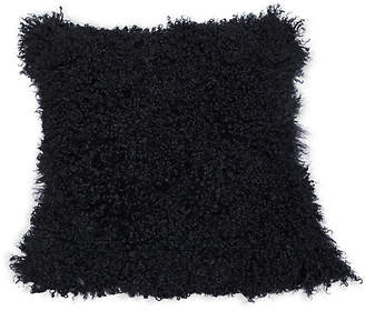 Le-Coterie Tibetan 24x24 Pillow - Black