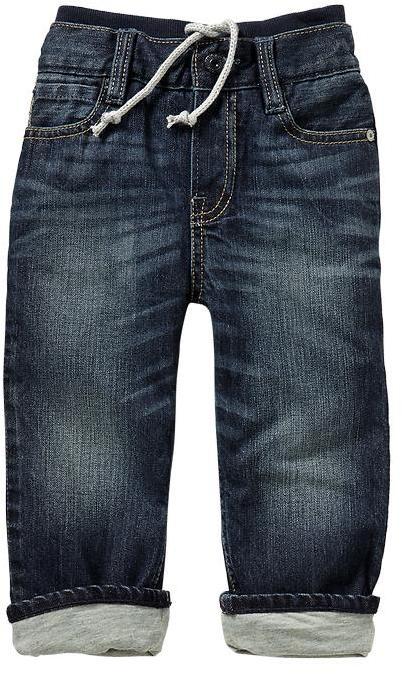 Gap Lined knit-waist original fit jeans