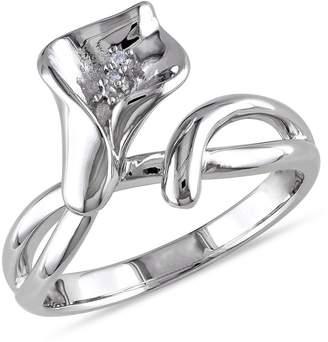 Concerto 0.011 CT. T.W. Diamond Lily Ring