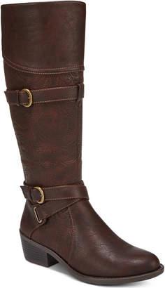Easy Street Shoes Kelsa Wide-Calf Riding Boots Women Shoes