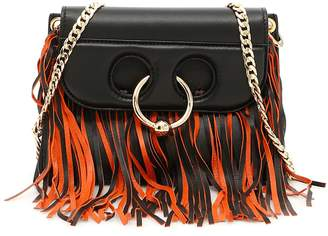 J.W.Anderson Mini Pierce Leather Fringe Bag