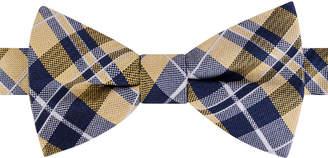 Tommy Hilfiger Men West Side Plaid Pre-Tied Silk Bow Tie