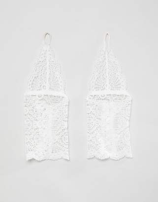 Asos BRIDAL Delicate Lace Cuff