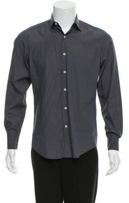 Lanvin Pinstripe Dress Shirt