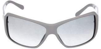 Prada Mirrored Square Sunglasses