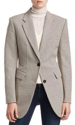 Theory Super Cinch Wool-Blend Blazer