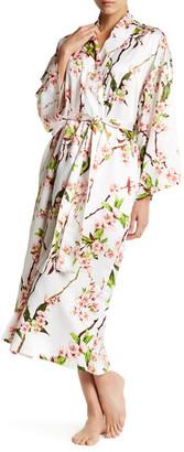 Natori Blossom Robe $180 thestylecure.com