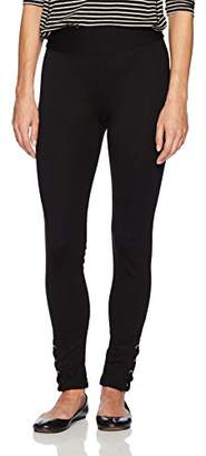 Amy Byer A. Byer Juniors Pull On Legging with Lace Up Detail