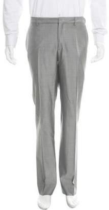 Christian Dior 150'S Wool & Silk-Blend Pants
