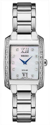 Seiko Womens Silver Tone Bracelet Watch-Sup399